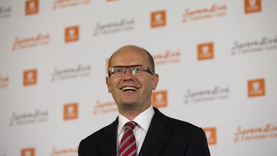 Bohuslav Sobotka, předseda ČSSD