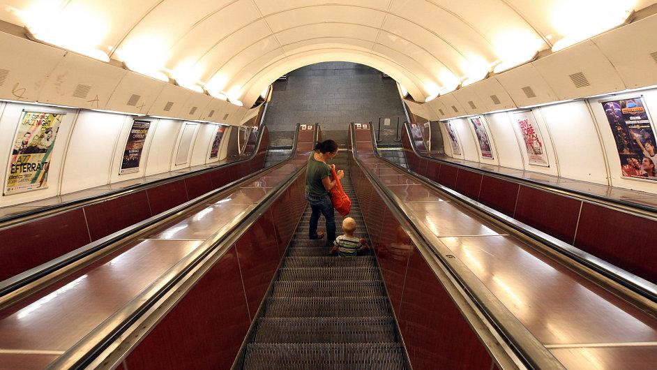 Městská hromadná doprava, metro. Ilsutrační foto