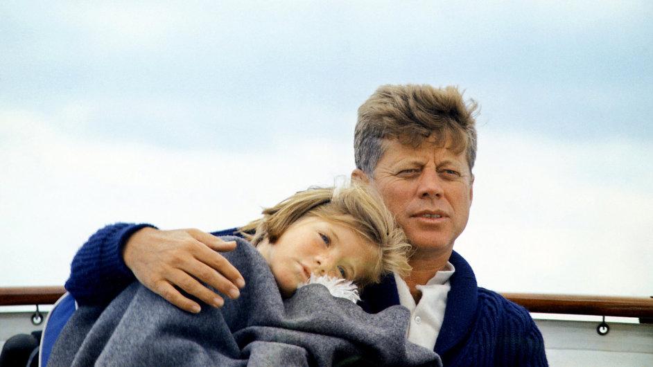 Caroline Kennedyová s otcem Johnem F. Kennedym