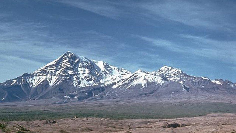 Kamčatka, sopka Shiveluch, ilustrační foto