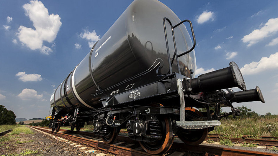 Cisternový vůz firmy Legios