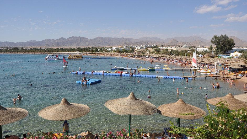 Naamský záliv v Egyptě (Ilustrační foto)