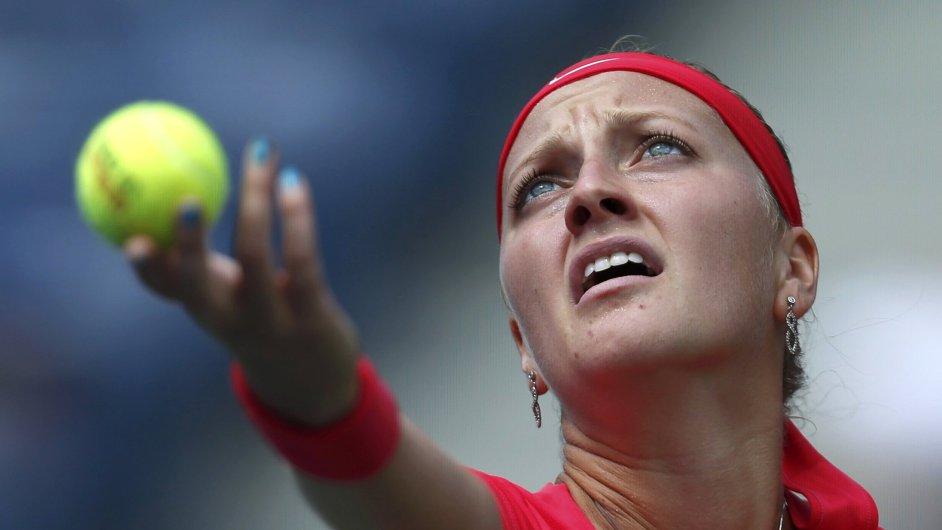 Petra Kvitová zvolila pro US Open veselé barvy