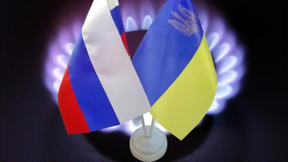 Ukrajina a Rusko se opět přou o dodávky plynu. (Ilustrační foto)