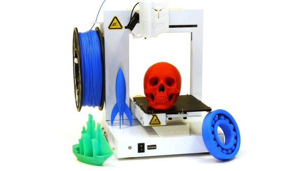 3D tiskárna UP Plus 2