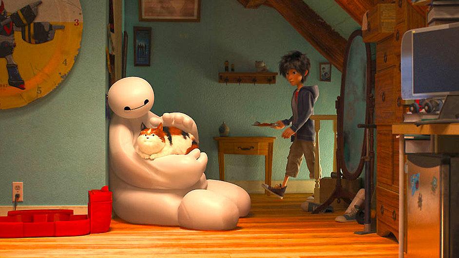 Disneyho první animovaný film podle Marvelu utáhnou robot a kluk.