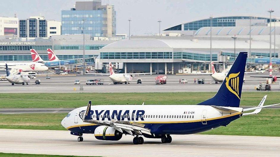 Aerolinky Ryanair, ilustrační foto