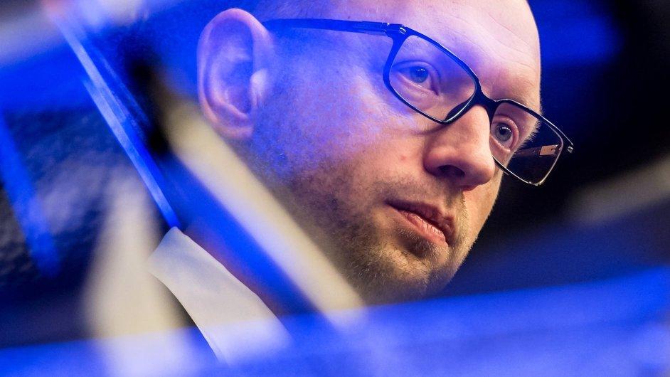 Arsenij Jaceňuk odstoupil z postu premiéra ukrajinské vlády.