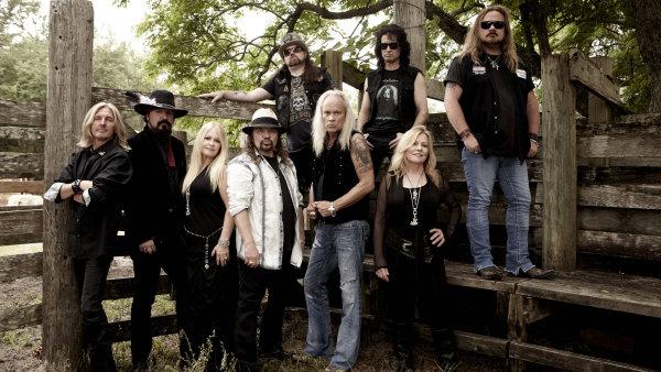 V Plzni příští rok vystoupí jižanští rockeři Lynyrd Skynyrd.