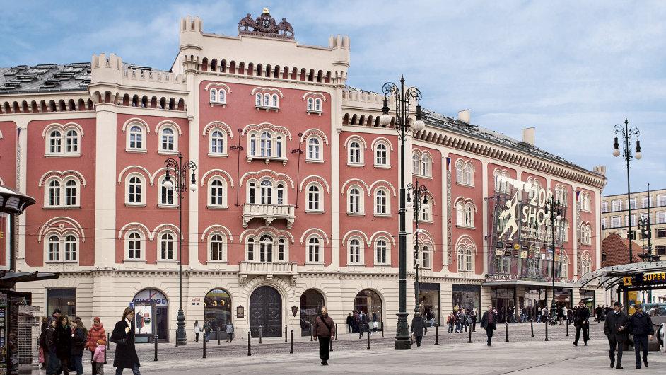 Obchodní centrum Palladium.