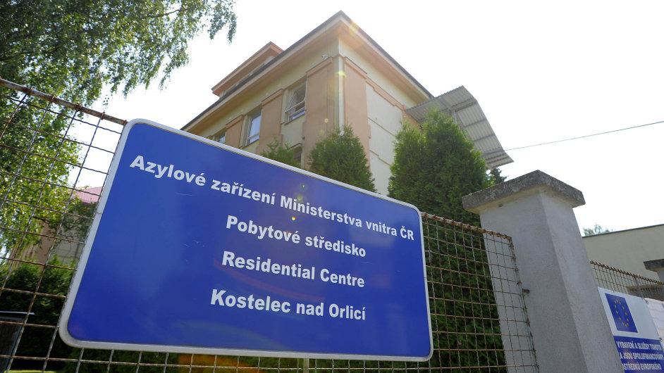 migrace, azyl, Česko, Kostelec, pobytové centrum