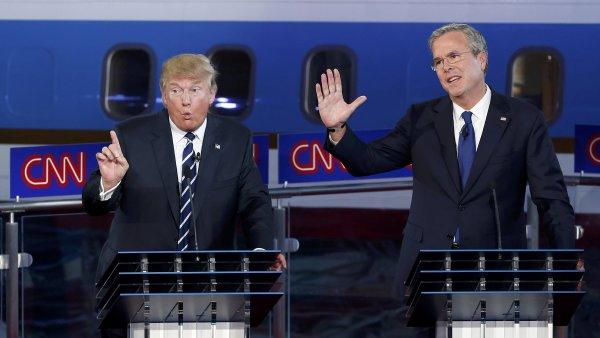 Další z kandidátů Jeb Bush před debatou přislíbil, že bude rovněž vystupovat mnohem aktivněji.