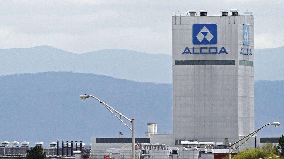 Závod amerického hliníkárenského giganta Alcoy ve stejnojmenném městě ve státě Tennessee.