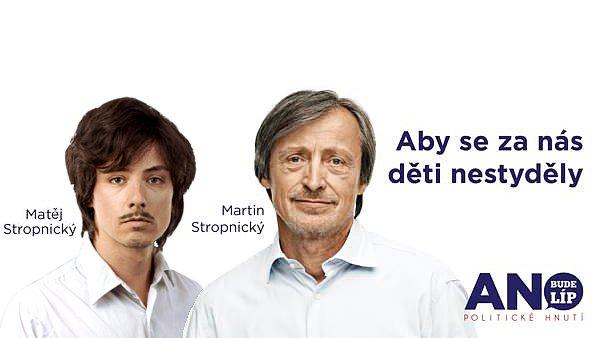 Mat�j Stropnick� je vlastn� g�nius politick�ho marketingu, proto�e zah�jil rebranding Strany zelen�ch t�m, �e to nap�lil do sv�ho fotra.
