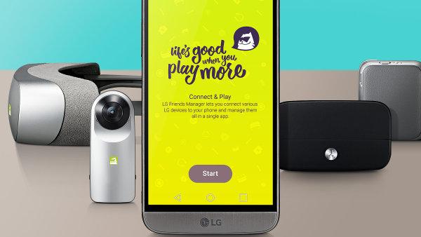 LG G5 s příslušenstvím