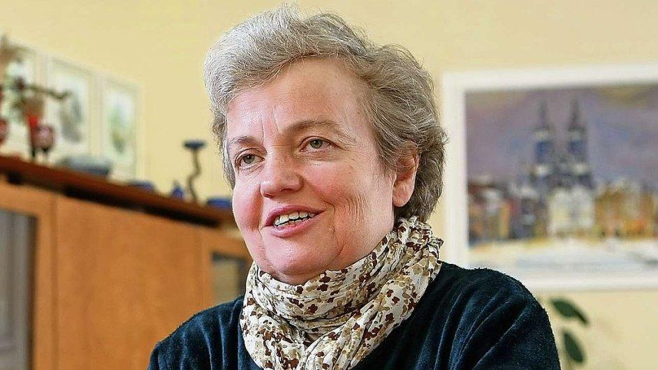 Dana Drábová, předsedkyně Státního úřadu pro jadernou bezpečnost (SÚJB)