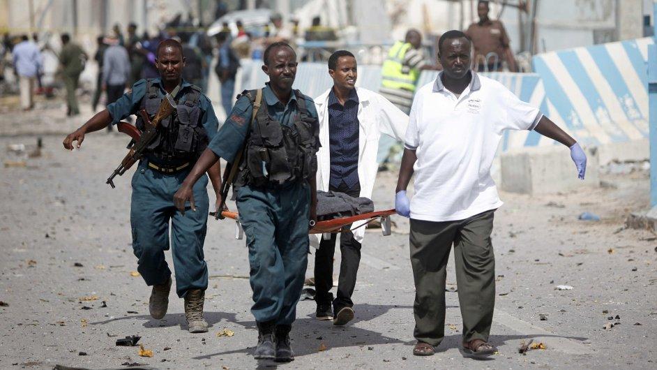 Mogadišu, atentát