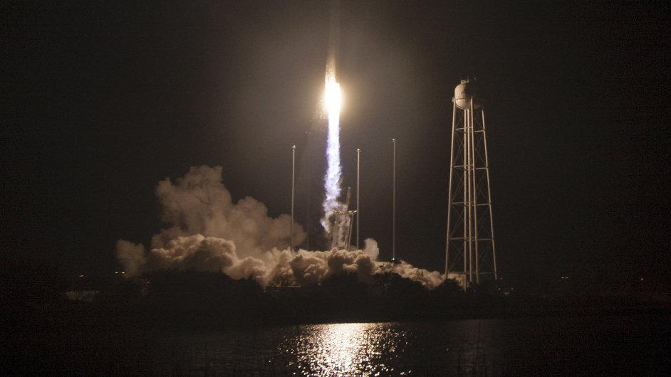 The Orbital ATK Antares rocket
