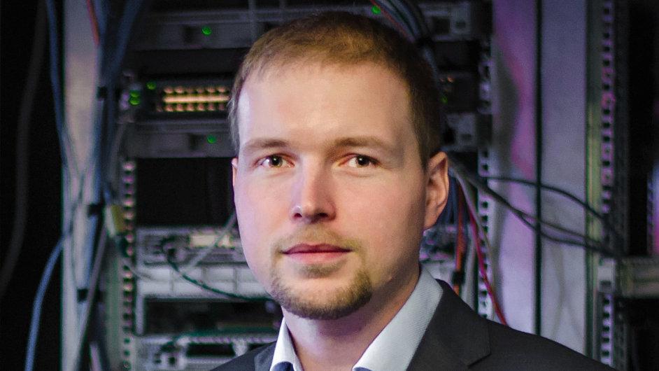 Zdeněk Gerlický, ředitel české softwarové společnosti nangu. TV