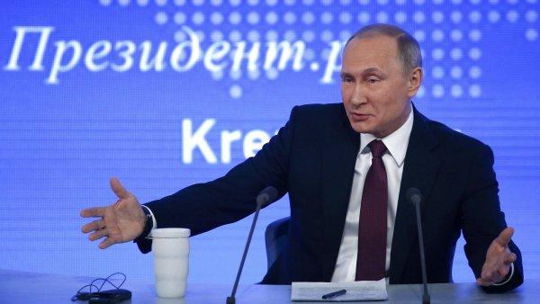 Nové sankce USA proti Rusku podle Putina poškodí vzájemné vztahy.