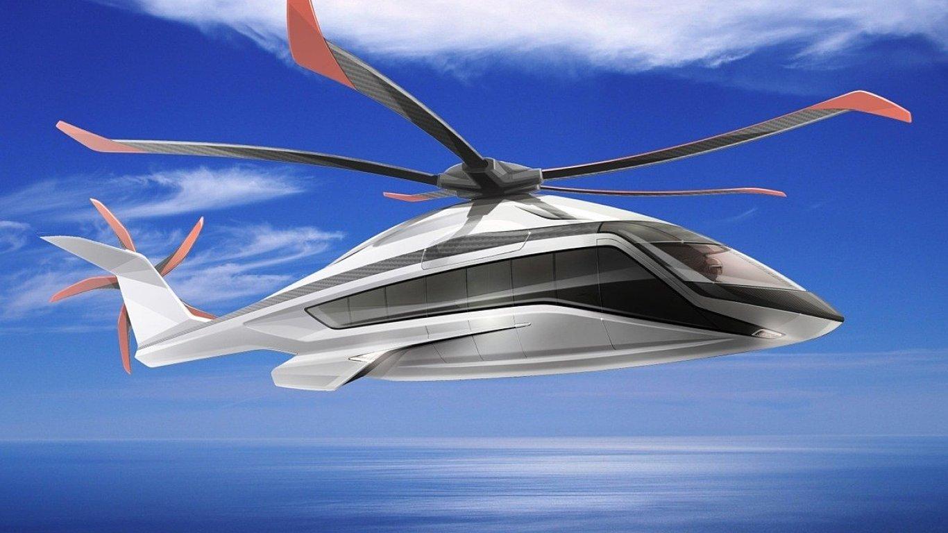 Koncept helikoptéry Airbus X6 z roku 2015