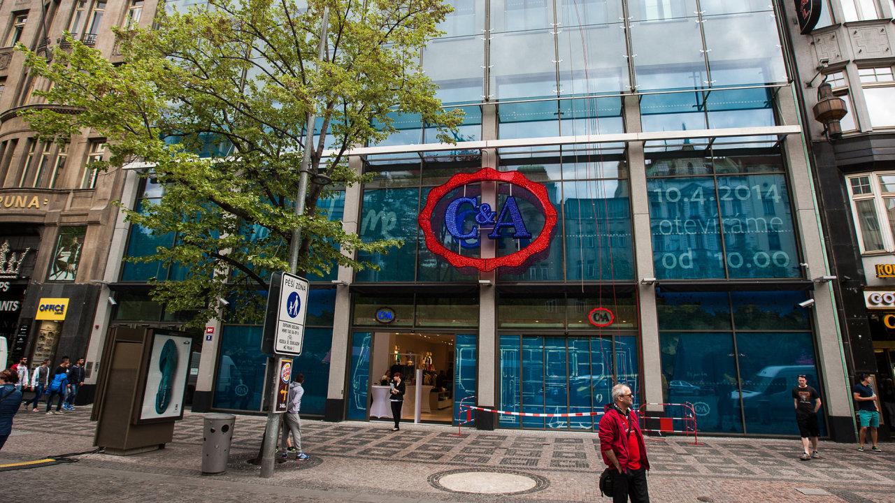C&A otevírá na Václavském náměstí největší prodejnu ve střední Evropě