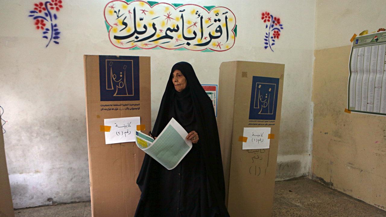 Parlamentní volby, Irák