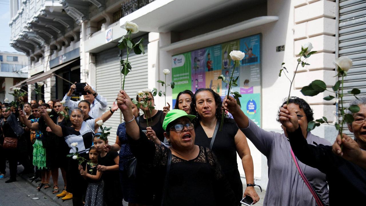 Guatemalská metropole zažila historický den bez vraždy.