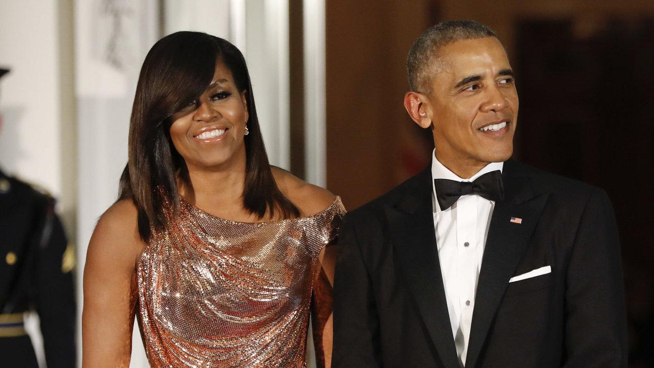 Barack a Michelle Obamovi.