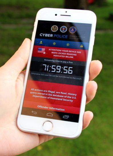 ESET mobil ransomware