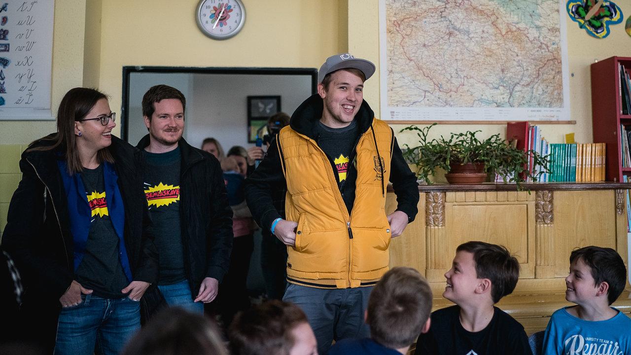 Ambasadorem happeningu #jsemlaskavec se už podruhé stal bývalý youtuber Jirka Král.