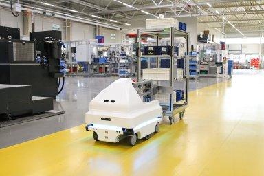 Kolaborativní robot Nidec.