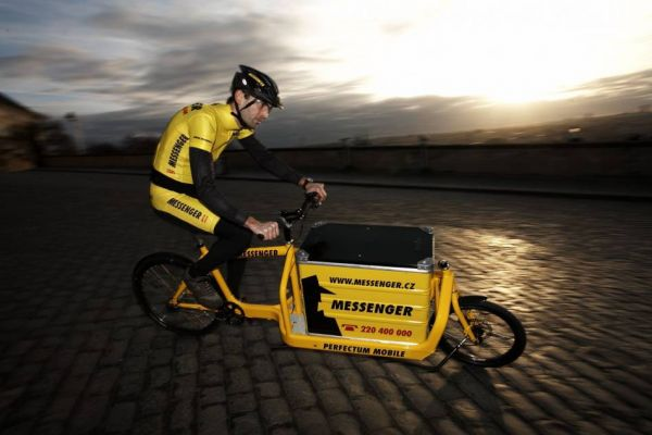 Cargo bike uveze až 100 kg