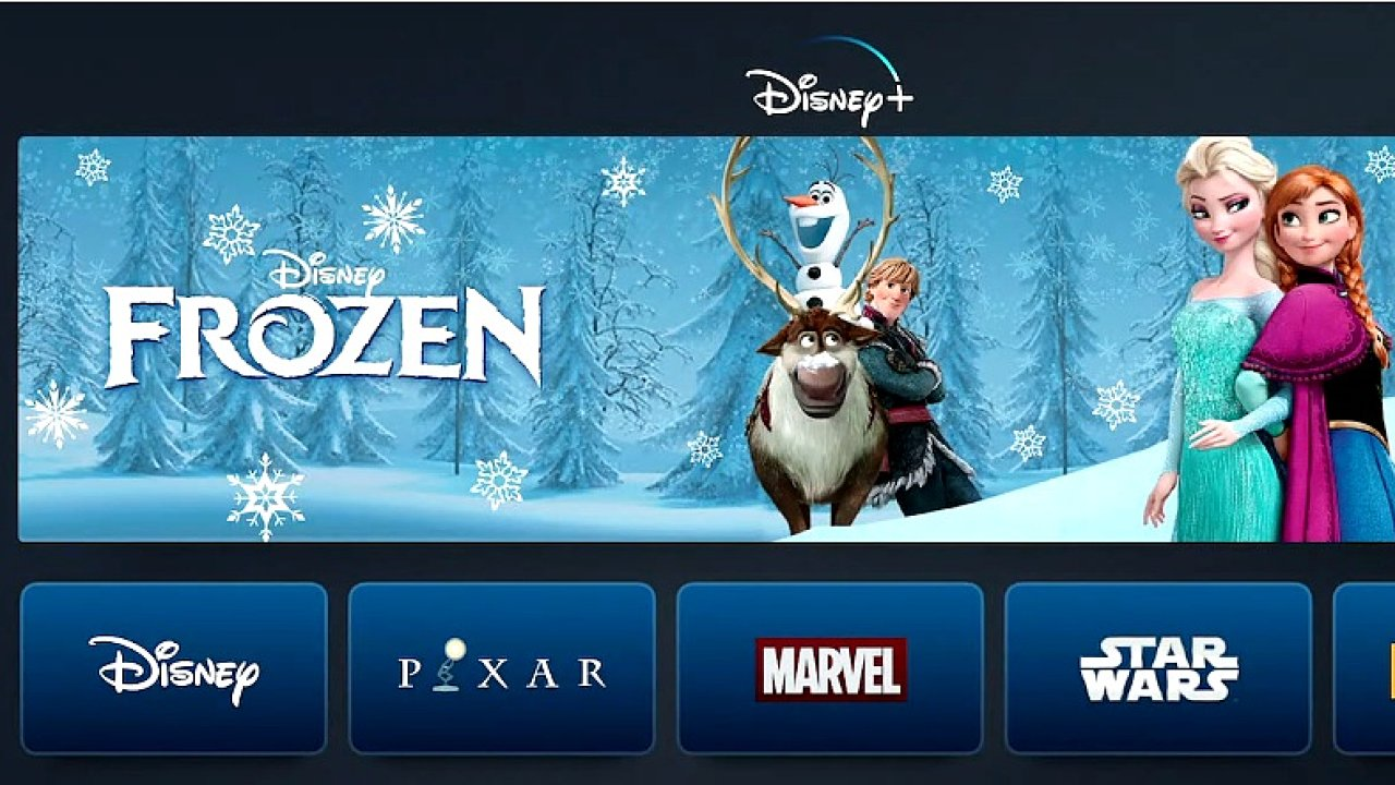 Disney spustí službu Disney+.