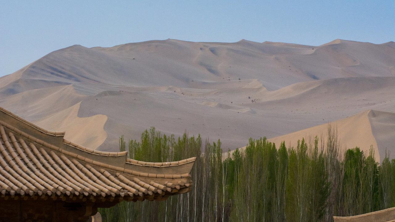 poušť Gobi, Čína