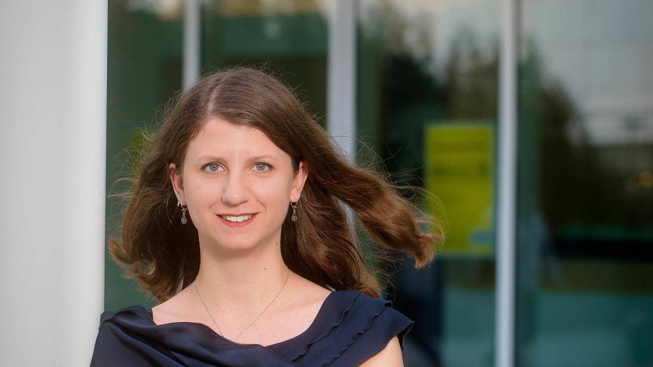 Ekonomická analytička Raiffeisenbank Eliška Jelínková.