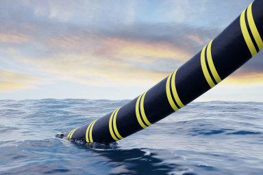 Podvodní kabel - ilustrační snímek