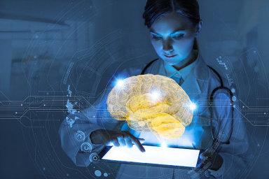 AI, umělá inteligence, ilustrace