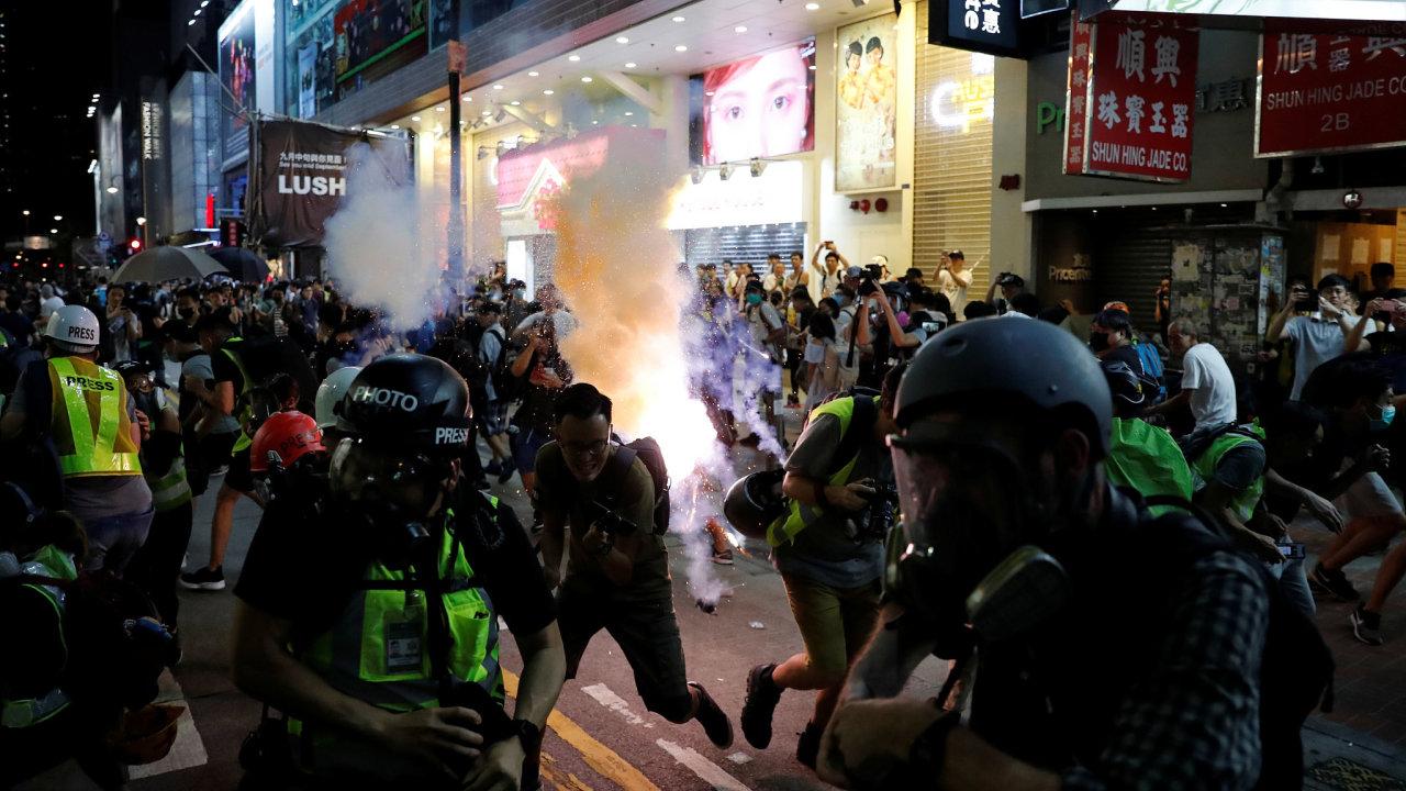 V Hongkongu probíhají demonstrace už od června letošního roku.