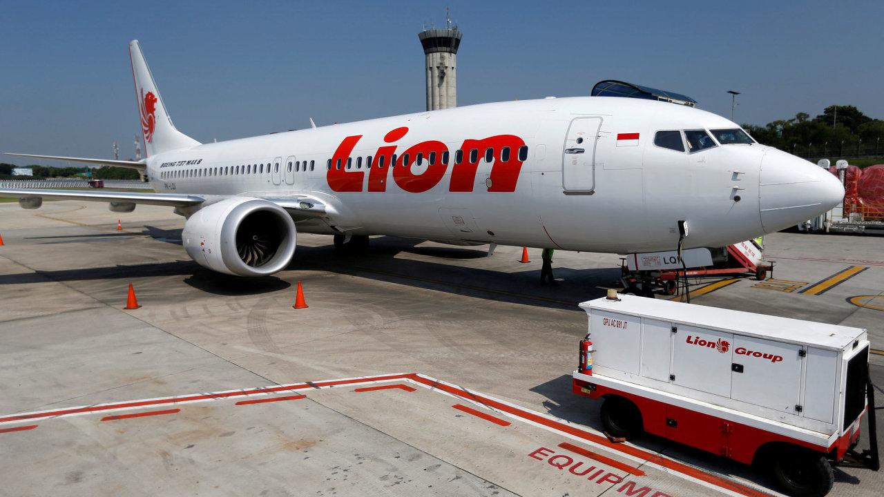 Boeing 737 Max Lion Air