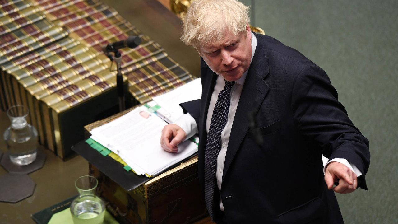 Navypsání předčasných voleb Boris Johnson tlačil, protože vsoučasném parlamentu nemá většinu anedaří se mu prosadit svoji představu obrexitu.