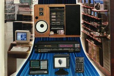 Nekonečná nabídka elektroniky na Západě kontrastovala s prázdnými regály v Československu.