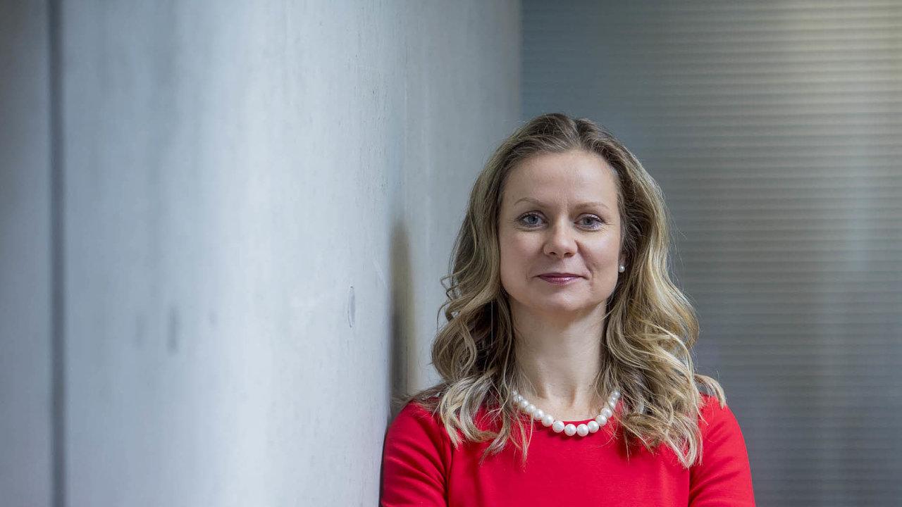 Jana Ševčíková, ředitelka odboru korporátního bankovnictví z newyorské pobočky belgické skupiny KBC.