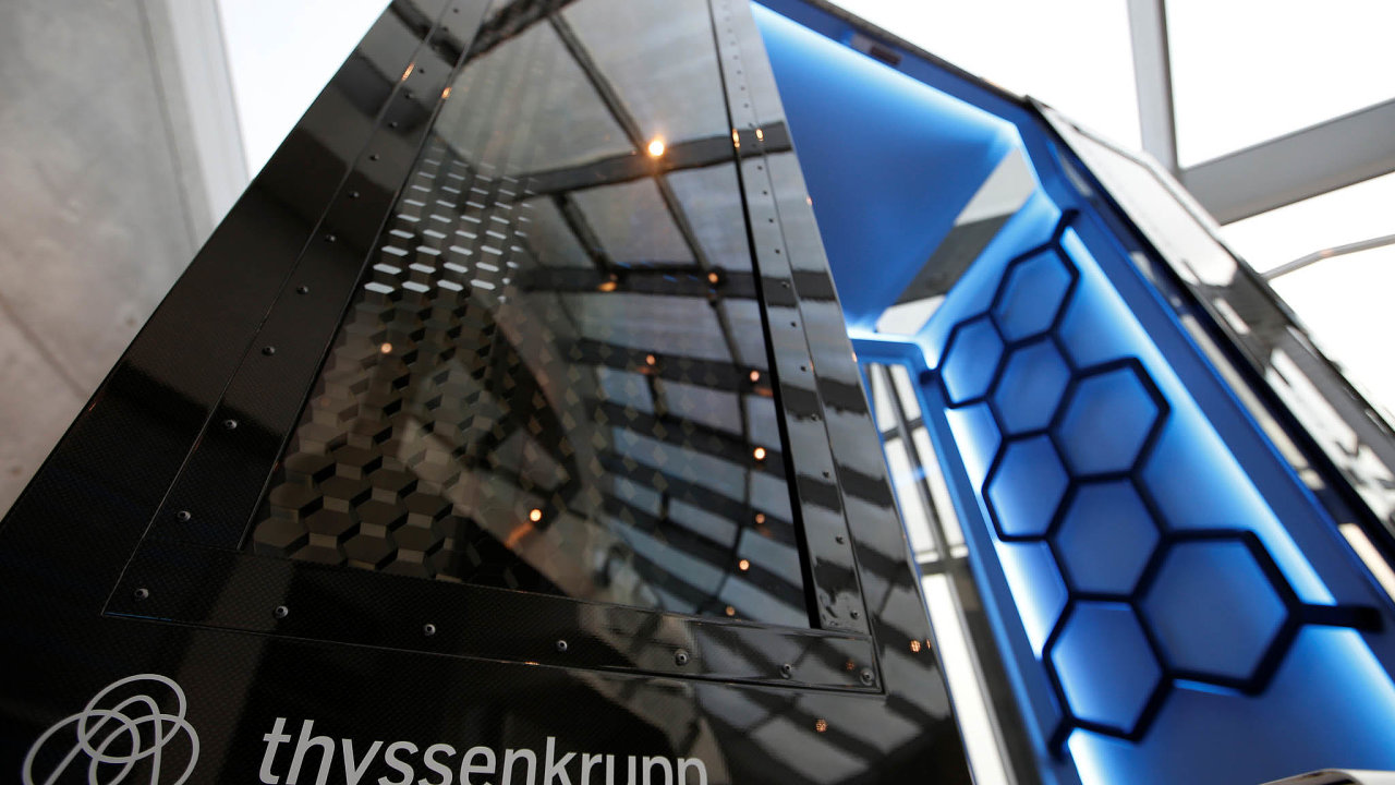 Výtah společnosti Thyssenkrupp