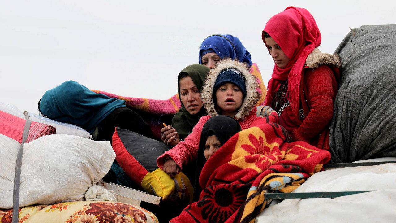 Odloňského 1. prosince boje vregionu vyhnaly podle OSN 900 tisíc lidí zjejich domovů.