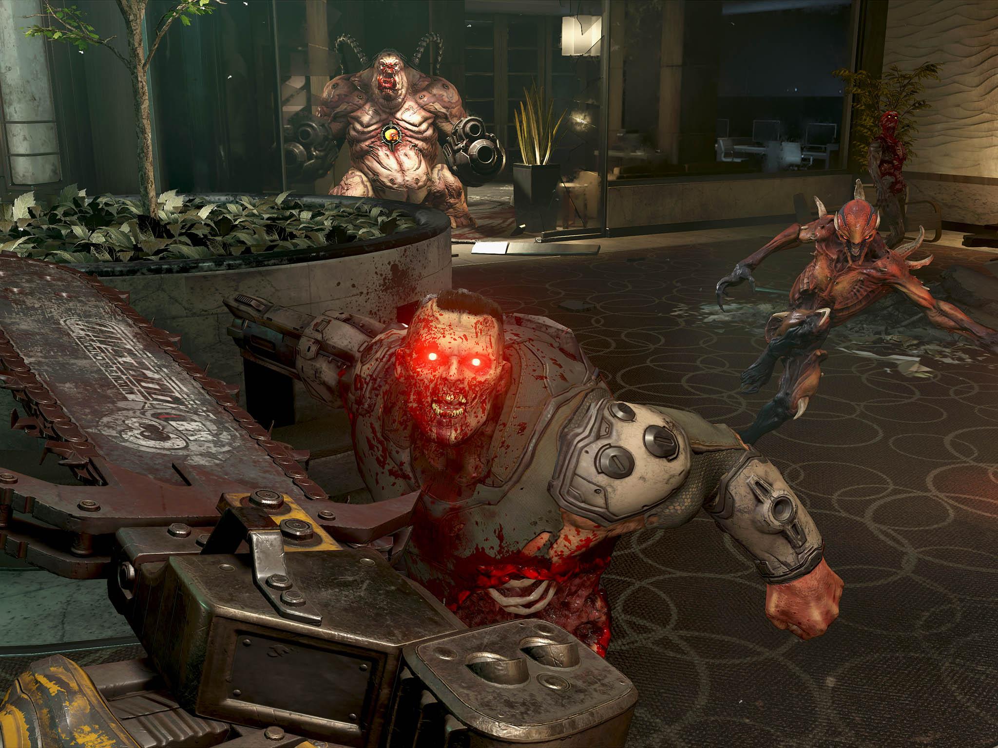 3D střílečka Doom Eternal nedělá odkazu svého více než čtvrt století starého předchůdce ostudu. Navíc může může být skvělým způsobem, jak si vybít frustraci způsobenou aktuální koronavirovou epidemií.