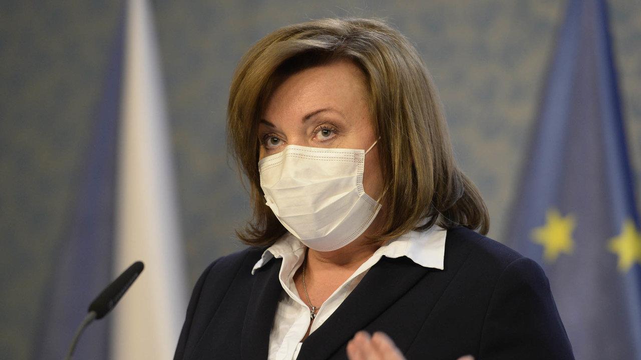 Šlo by obiliony. Ministryně financí Alena Schillerová přiznala, že škody, které podnikatelům způsobil koronavirus, jsou značné astát jim je nemůže nahradit.