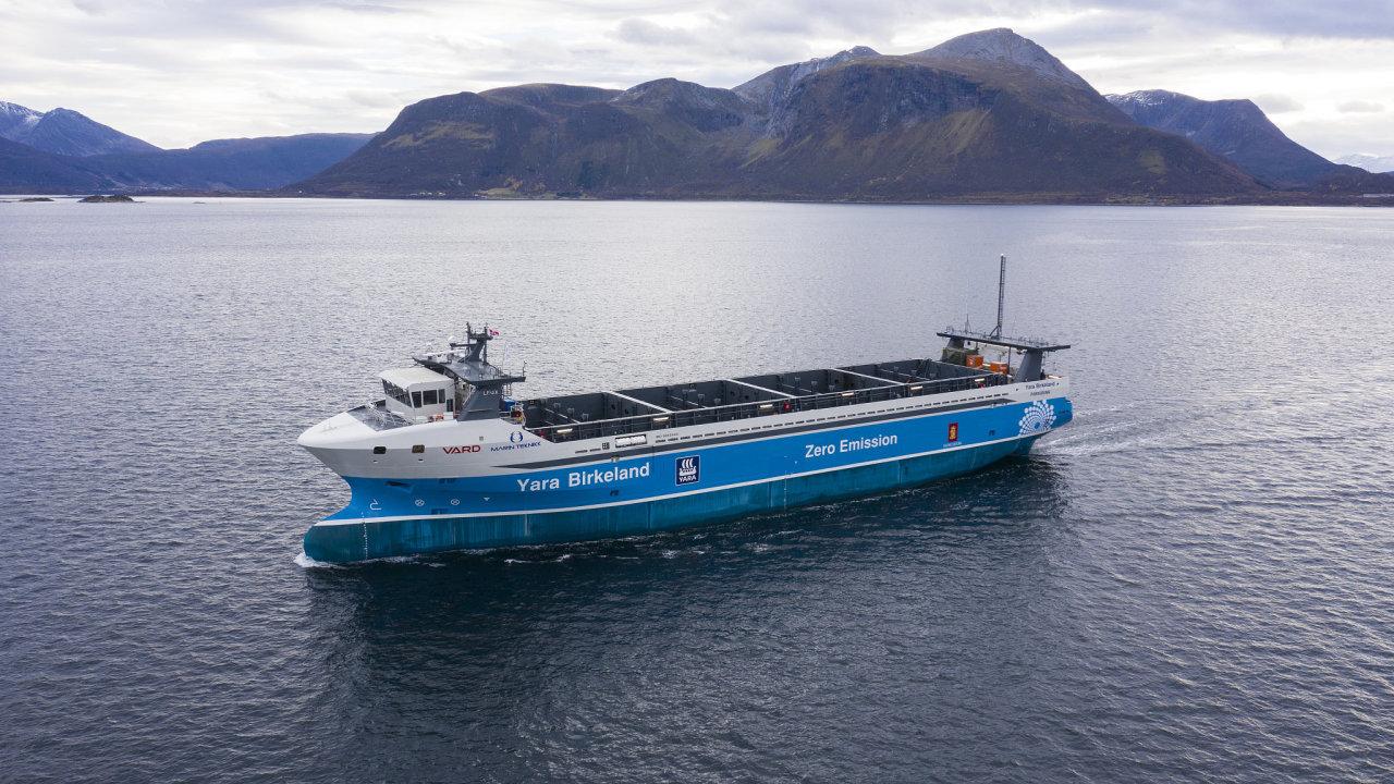 Loď Yara Birkeland