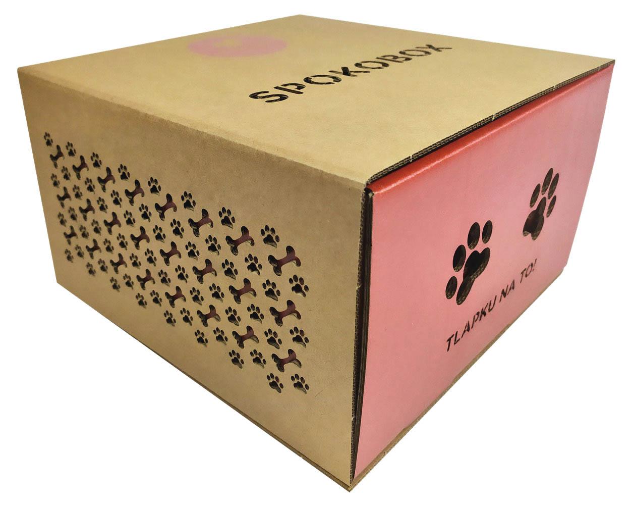 Exkluzivní krabice pro e-shop přihlašovatele Thimm – The Highpack Group