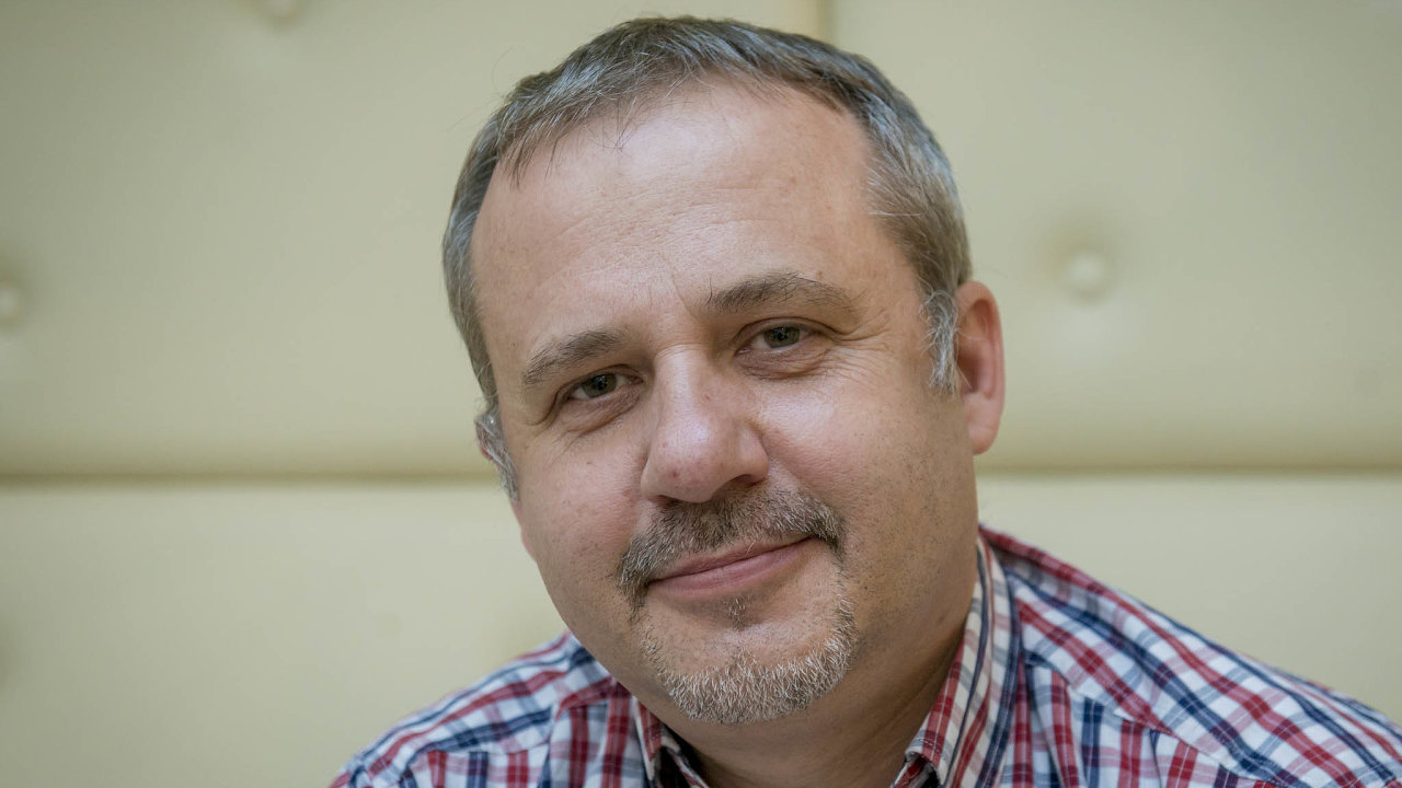 Obranný expert a spolumajitel firmy RobotScientific František Šulc.